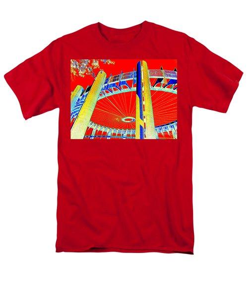 Pop Goes The Pavillion Men's T-Shirt  (Regular Fit) by Ed Weidman