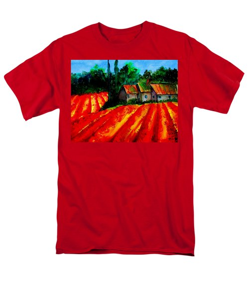 Poppy Field  Sold Men's T-Shirt  (Regular Fit) by Lil Taylor