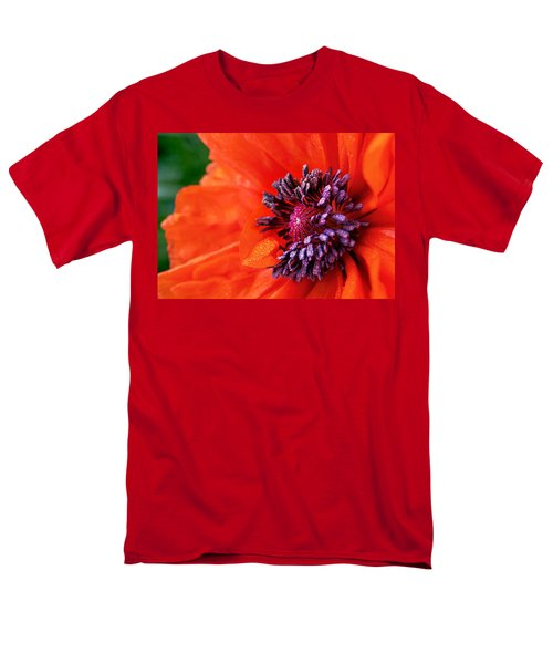 Poppy's Purple Passion Men's T-Shirt  (Regular Fit)
