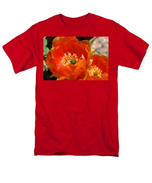 Prickly Pear In Bloom Men's T-Shirt  (Regular Fit) by Joe Kozlowski