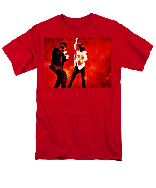 Men's T-Shirt  (Regular Fit) featuring the painting Pulp Fiction Dance 2 by Brian Reaves
