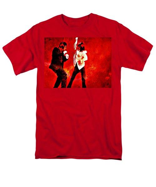 Pulp Fiction Dance 2 Men's T-Shirt  (Regular Fit) by Brian Reaves