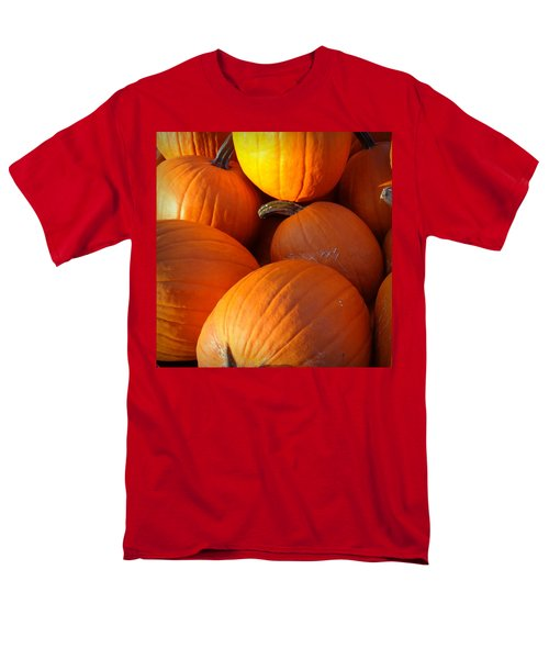 Men's T-Shirt  (Regular Fit) featuring the photograph Pumpkins by Joseph Skompski