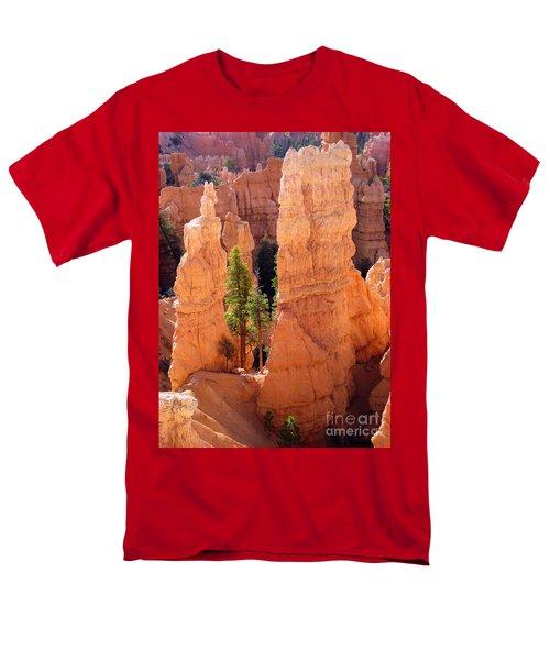 Reaching Towards The Sun Men's T-Shirt  (Regular Fit) by Meghan at FireBonnet Art