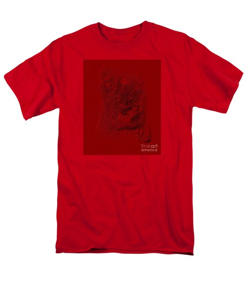 Red Cat Collection. Special... Men's T-Shirt  (Regular Fit) by Oksana Semenchenko