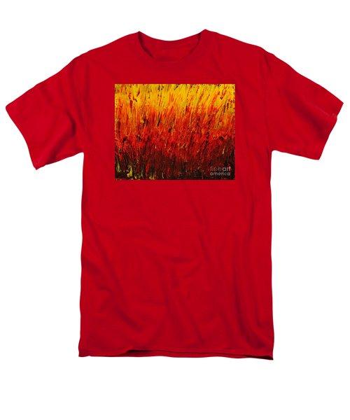 RED Men's T-Shirt  (Regular Fit) by Teresa Wegrzyn