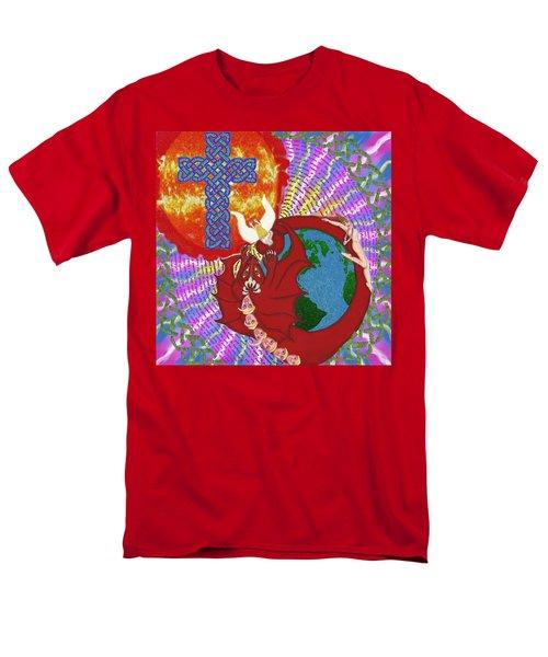 Revelation 12 Men's T-Shirt  (Regular Fit) by Hidden  Mountain