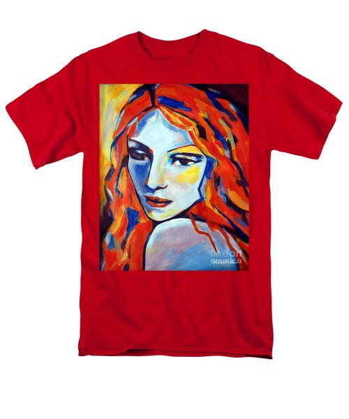 Men's T-Shirt  (Regular Fit) featuring the painting Reverie by Helena Wierzbicki