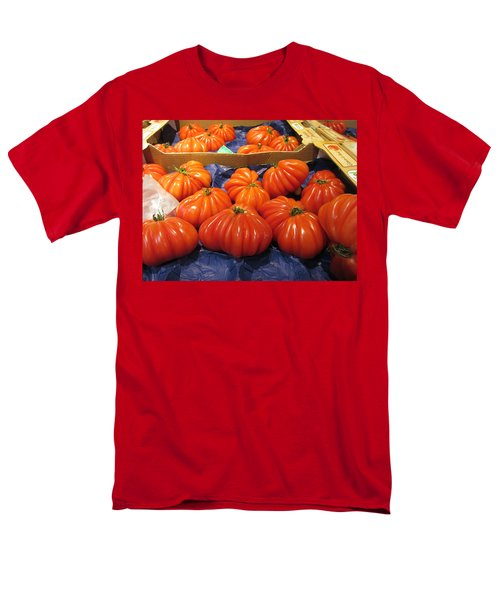 Ribbed Tomatoes Men's T-Shirt  (Regular Fit) by Pema Hou