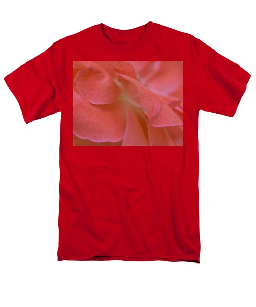Men's T-Shirt  (Regular Fit) featuring the photograph Rose Petals by Stephen Anderson