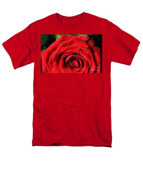Men's T-Shirt  (Regular Fit) featuring the photograph Roses 4 by Mariusz Czajkowski