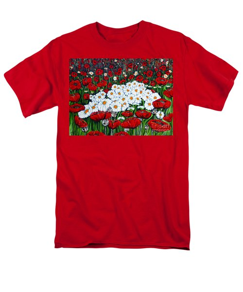 Rubies And Pearls Men's T-Shirt  (Regular Fit) by Jackie Carpenter