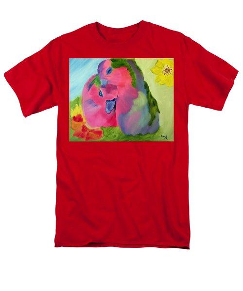 Safe And Sound Men's T-Shirt  (Regular Fit) by Meryl Goudey