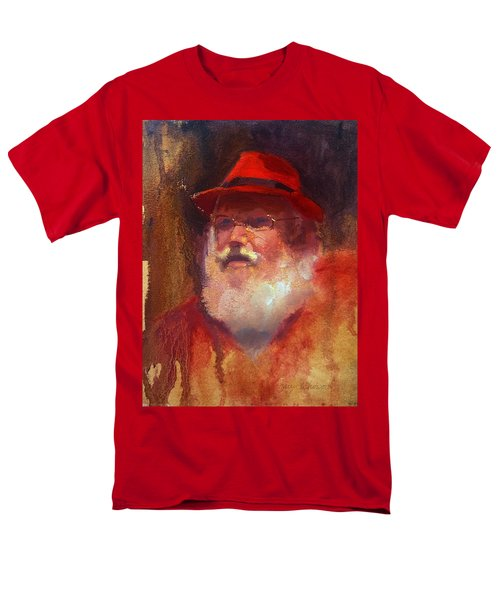 Santa Men's T-Shirt  (Regular Fit) by Karen Whitworth