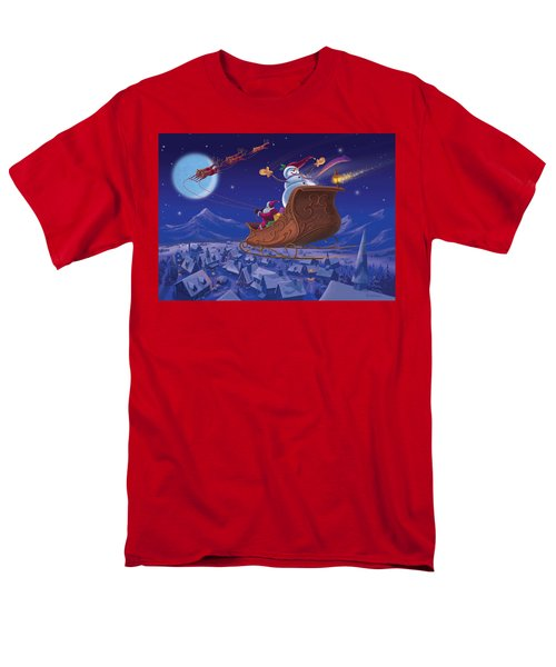 Santa's Helper Men's T-Shirt  (Regular Fit) by Michael Humphries