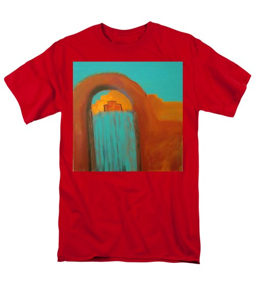 Men's T-Shirt  (Regular Fit) featuring the painting Sante Fe by Keith Thue