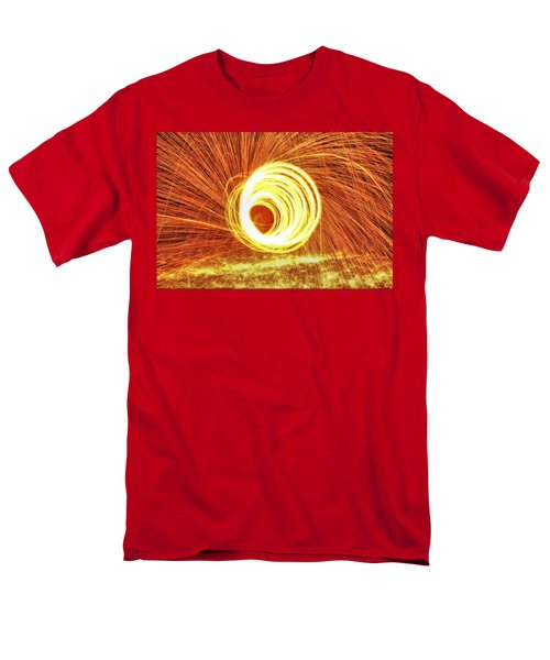 Shooting Sparks Men's T-Shirt  (Regular Fit) by Dan Sproul