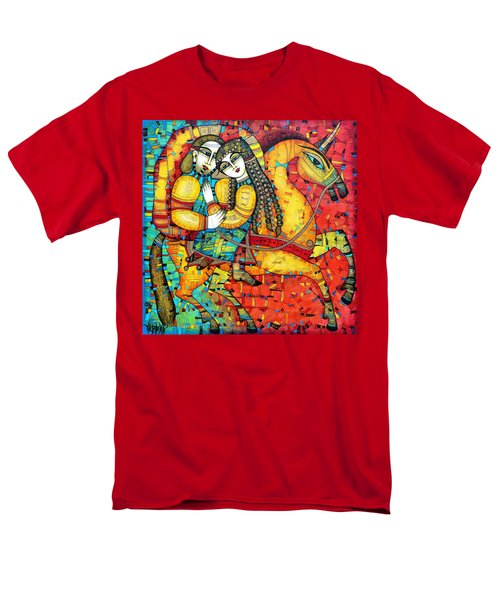 Sonata For Two And Unicorn Men's T-Shirt  (Regular Fit)