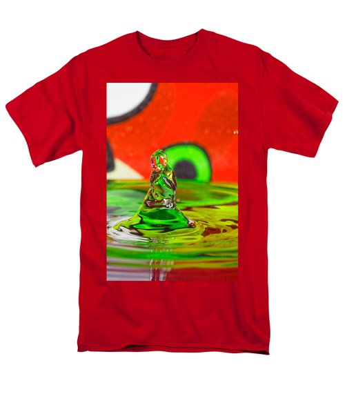 Men's T-Shirt  (Regular Fit) featuring the photograph Splas by Peter Lakomy