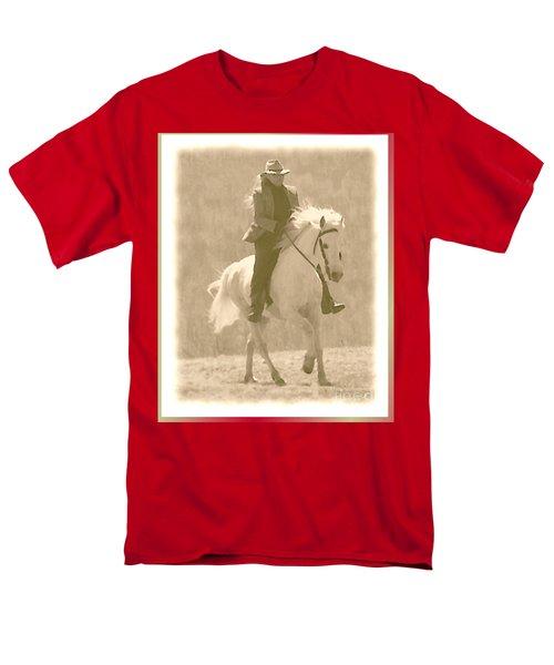 Stallion Strides Men's T-Shirt  (Regular Fit) by Patricia Keller