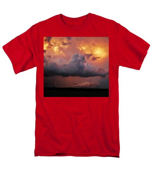 Stormy Sunset Men's T-Shirt  (Regular Fit) by Ed Sweeney