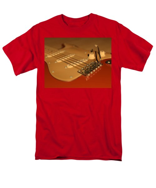 Strummed Men's T-Shirt  (Regular Fit) by James Barnes