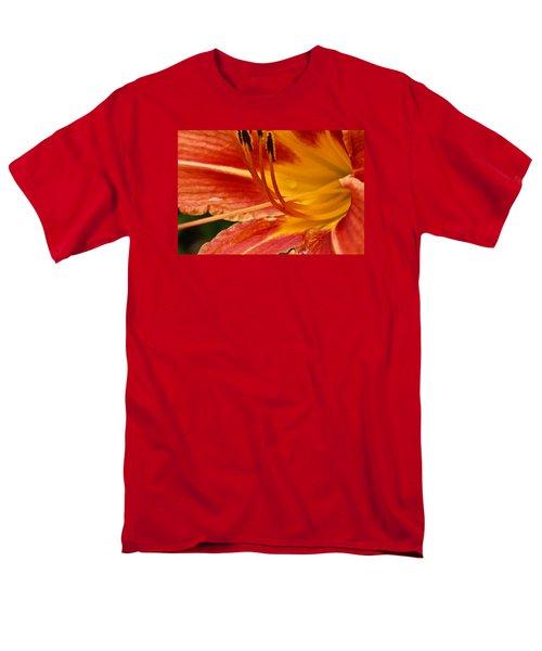 Summer Daylily Men's T-Shirt  (Regular Fit) by Julie Andel