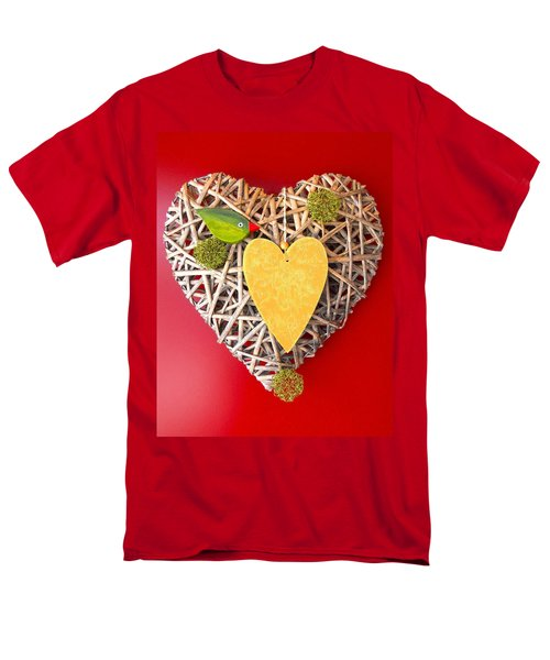 Men's T-Shirt  (Regular Fit) featuring the photograph Summer Heart by Juergen Weiss