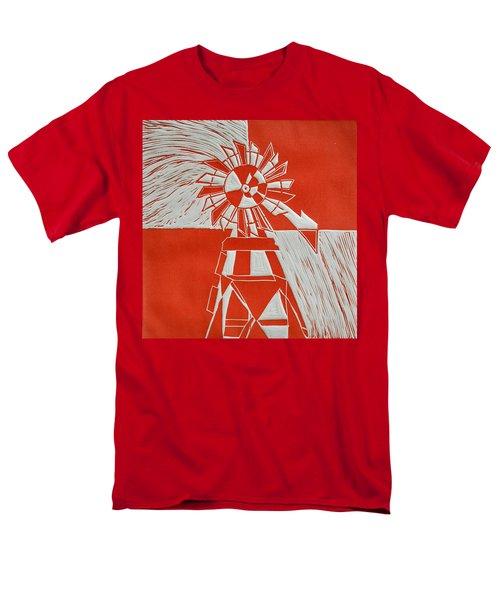 Sunny Windmill Men's T-Shirt  (Regular Fit) by Verana Stark