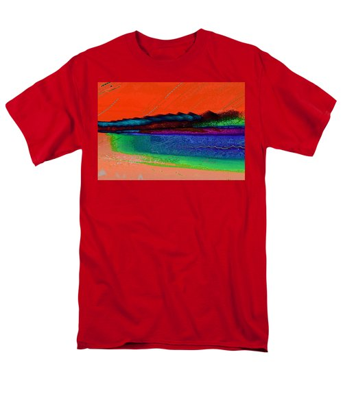 Sunset By The Lake Men's T-Shirt  (Regular Fit) by David Pantuso