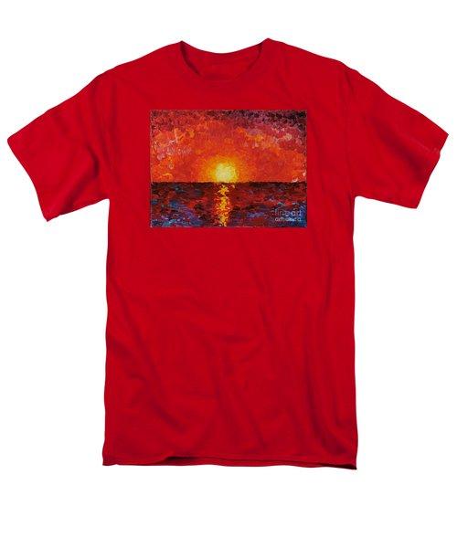 Sunset Men's T-Shirt  (Regular Fit) by Teresa Wegrzyn