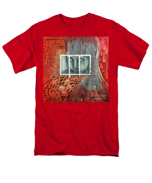 The Buddhist Color Men's T-Shirt  (Regular Fit) by Fei A
