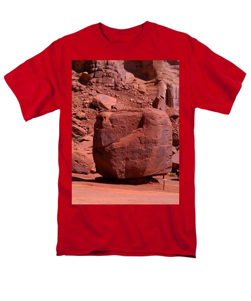 Men's T-Shirt  (Regular Fit) featuring the photograph The Cube by Fortunate Findings Shirley Dickerson