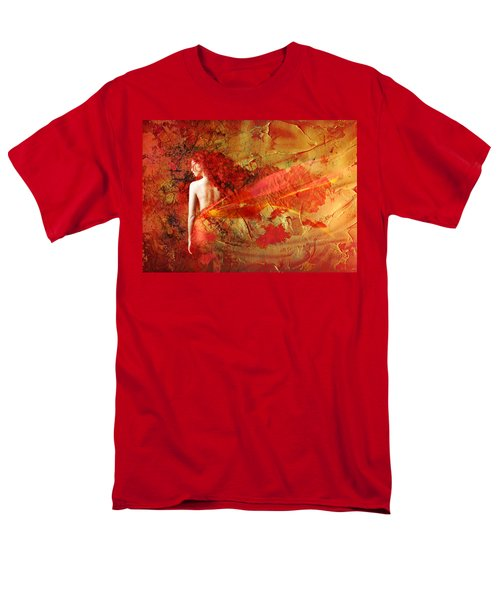 The Fire Within Men's T-Shirt  (Regular Fit) by Jacky Gerritsen