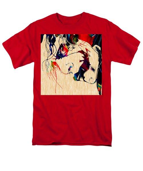 The Joker Heath Ledger Collection Men's T-Shirt  (Regular Fit) by Marvin Blaine