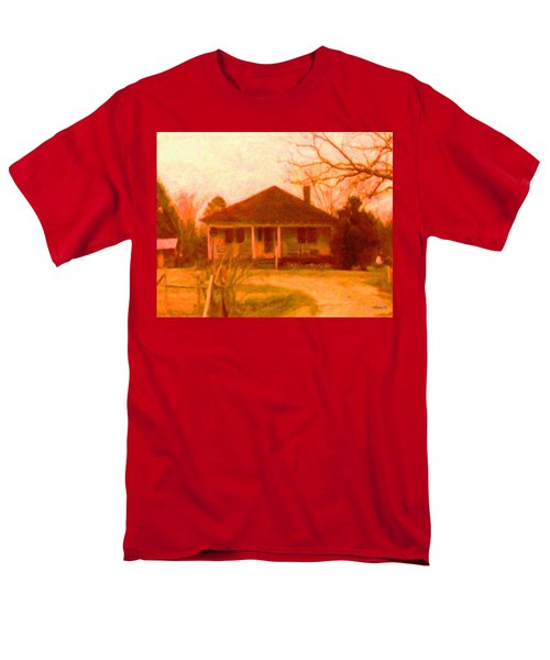 The Old Home Place Men's T-Shirt  (Regular Fit) by Rebecca Korpita