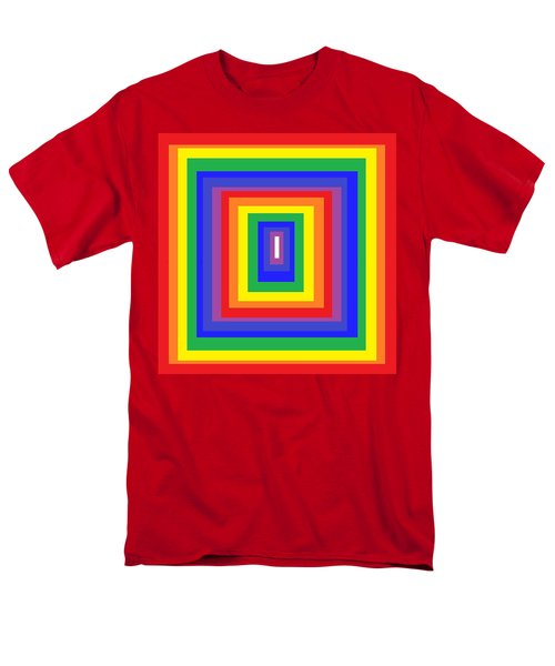 Men's T-Shirt  (Regular Fit) featuring the digital art The Sixties by Cletis Stump