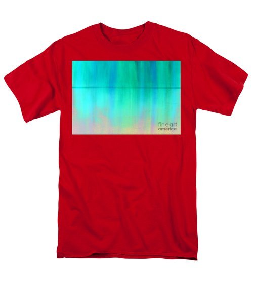 The Thin Red Line Men's T-Shirt  (Regular Fit) by Albert Puskaric