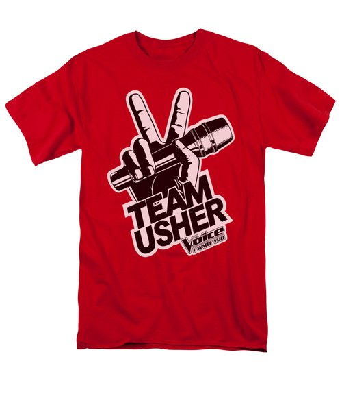The Voice - Usher Logo Men's T-Shirt  (Regular Fit) by Brand A