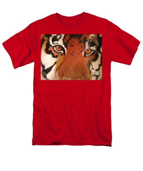 Tiger Eyes Men's T-Shirt  (Regular Fit) by Renee Michelle Wenker