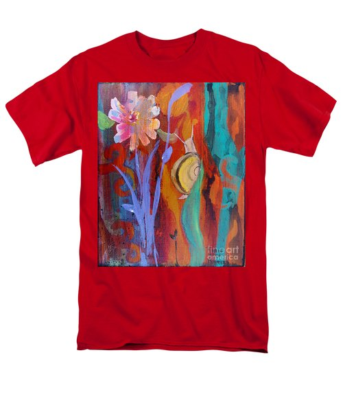 Men's T-Shirt  (Regular Fit) featuring the painting Time Traveler by Robin Maria Pedrero
