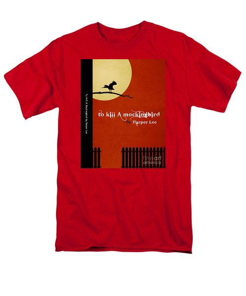 To Kill A Mockingbird Book Cover Movie Poster Art 1 Men's T-Shirt  (Regular Fit) by Nishanth Gopinathan