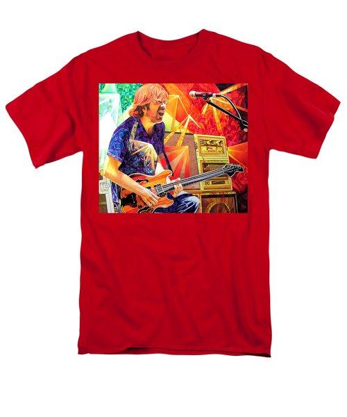 Trey Anastasio Squared Men's T-Shirt  (Regular Fit) by Joshua Morton