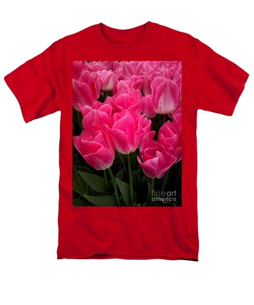 Men's T-Shirt  (Regular Fit) featuring the photograph Tulip Festival - 19 by Hanza Turgul