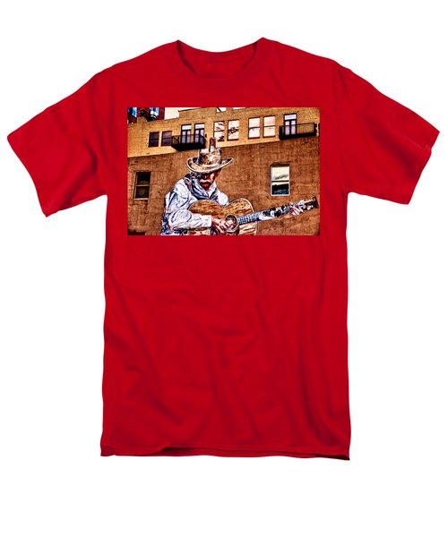 Urban Cowboy Men's T-Shirt  (Regular Fit) by Bill Kesler