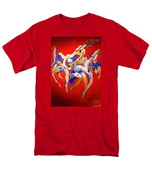 Men's T-Shirt  (Regular Fit) featuring the painting Valkyries by Georg Douglas