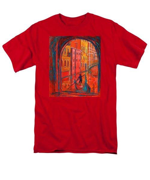 Venice Impression Viii Men's T-Shirt  (Regular Fit) by Xueling Zou
