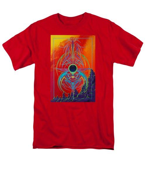 Waiting Over Sedona Men's T-Shirt  (Regular Fit) by Alan Johnson