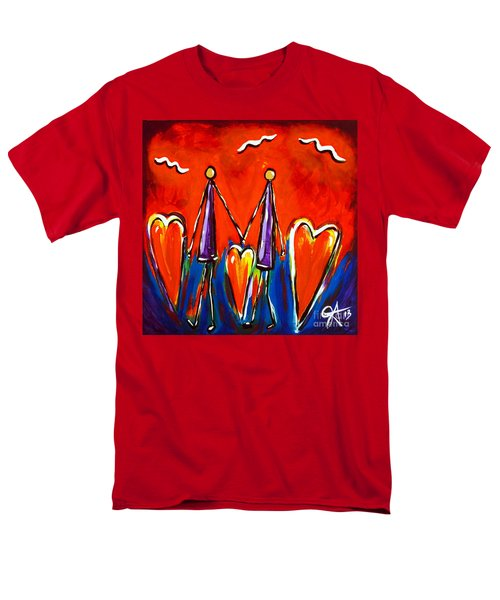 Walk With Me Men's T-Shirt  (Regular Fit) by Jackie Carpenter
