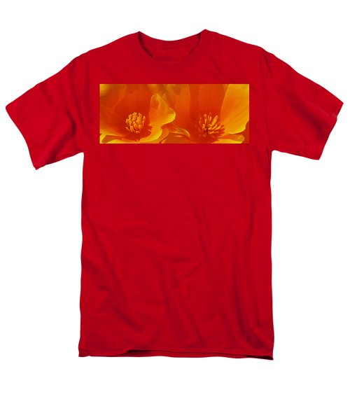 Wild Poppies Men's T-Shirt  (Regular Fit) by Ben and Raisa Gertsberg